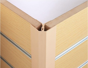 Slatwall Corners, Edgings and Joining Trims