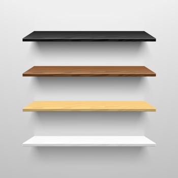 600mm x 400mm Shelves