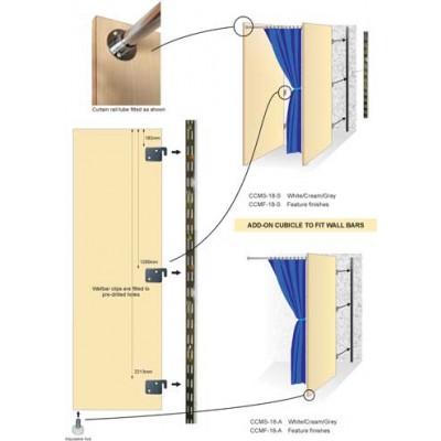 Modular Changing Room Cubicle (Starter)