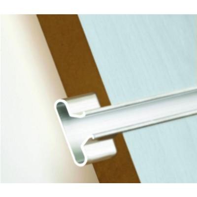 Aluminium T Shaped Slatwall Inserts (Pack of 12)
