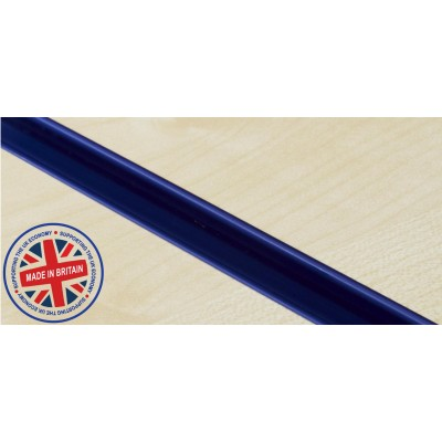 Blue (Navy) Plastic | Pvc Slatwall Inserts (Pack of 12)