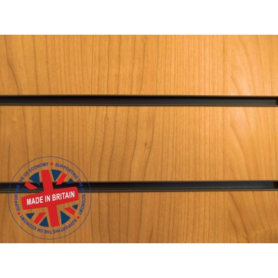 Cherry Slatwall Panel 8ft x 4ft (2400mm x 1200mm)