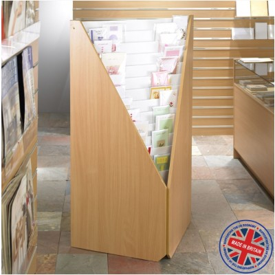 12 Tier Corner Greeting Card Unit - 60cm deep