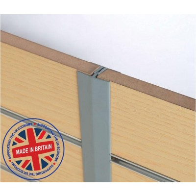 Slatwall 'H' Section Joiner Profile 8ft (2440mm) - All Colours