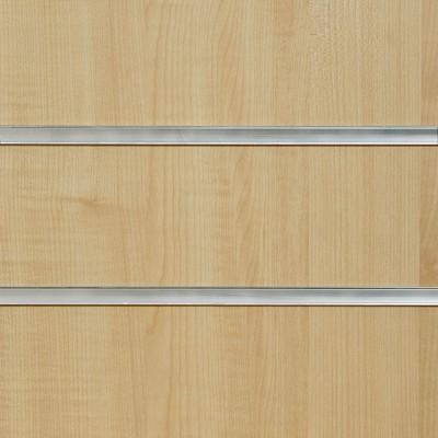 Irish Maple Slatwall Panel 8ft x 4ft (2400mm x 1200mm)
