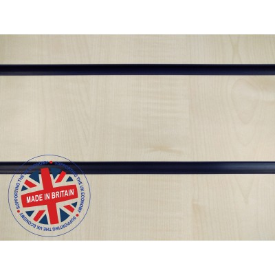 Maple Slatwall Panel 8ft x 4ft (2400mm x 1200mm)