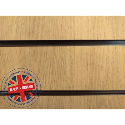 Oak Slatwall Panel 8ft x 4ft (2400mm x 1200mm)