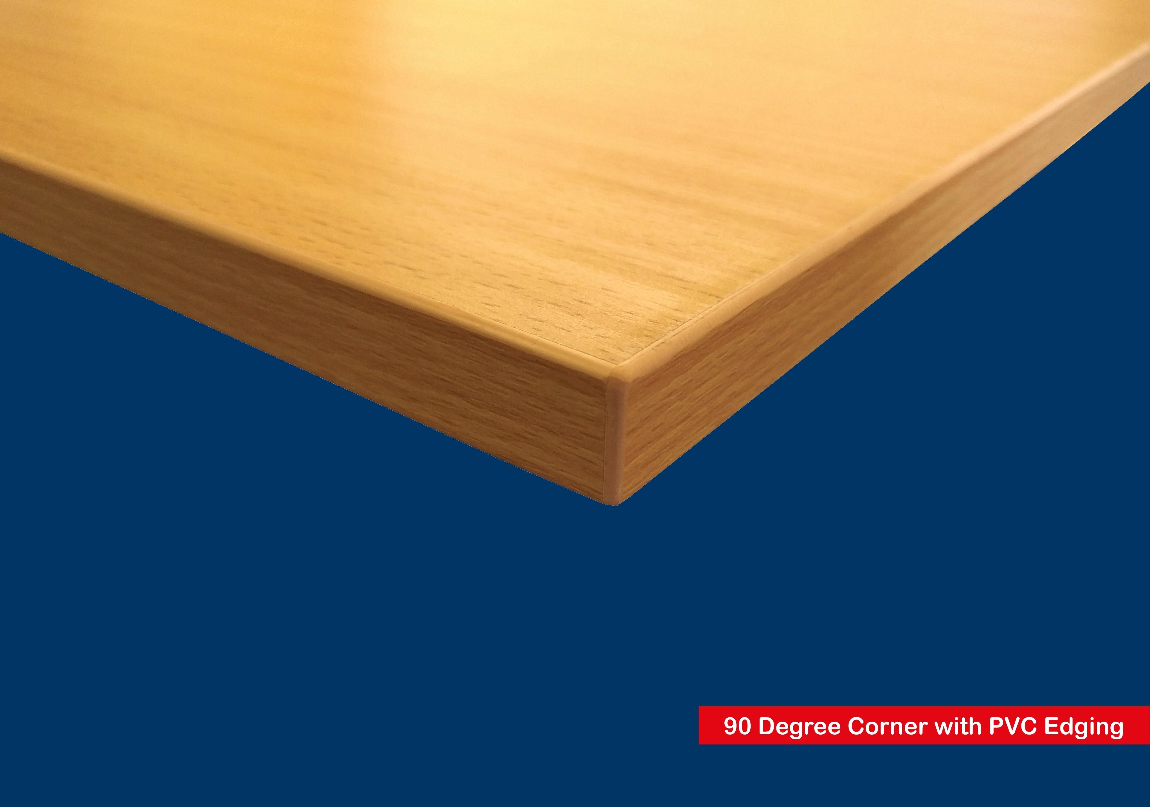 Cream Wood Shelf Floating Slatwall Shelf 1000mm Wide X