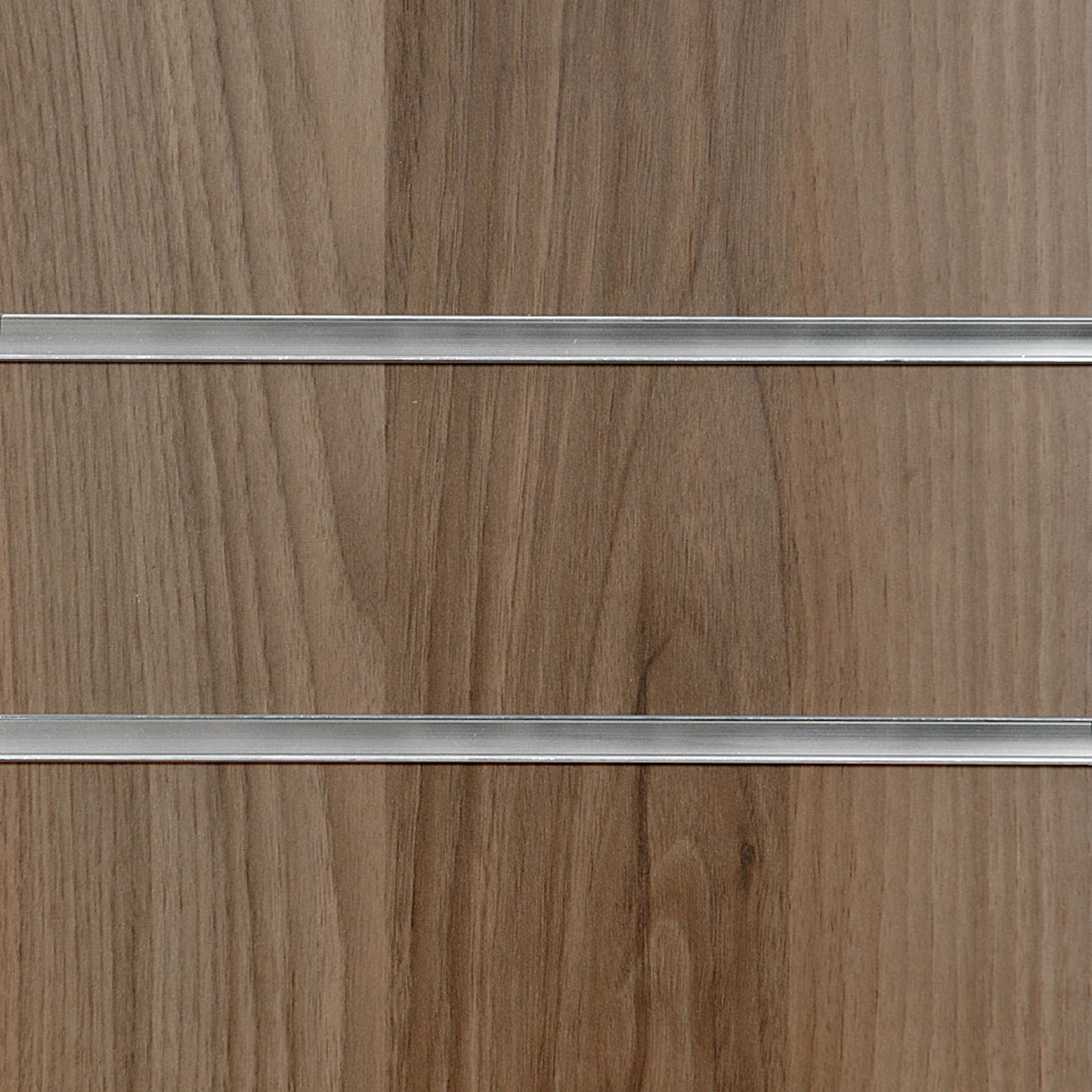 Light Walnut Uk Slatwall Panel 8ft X 4ft 2400mm X 1200mm
