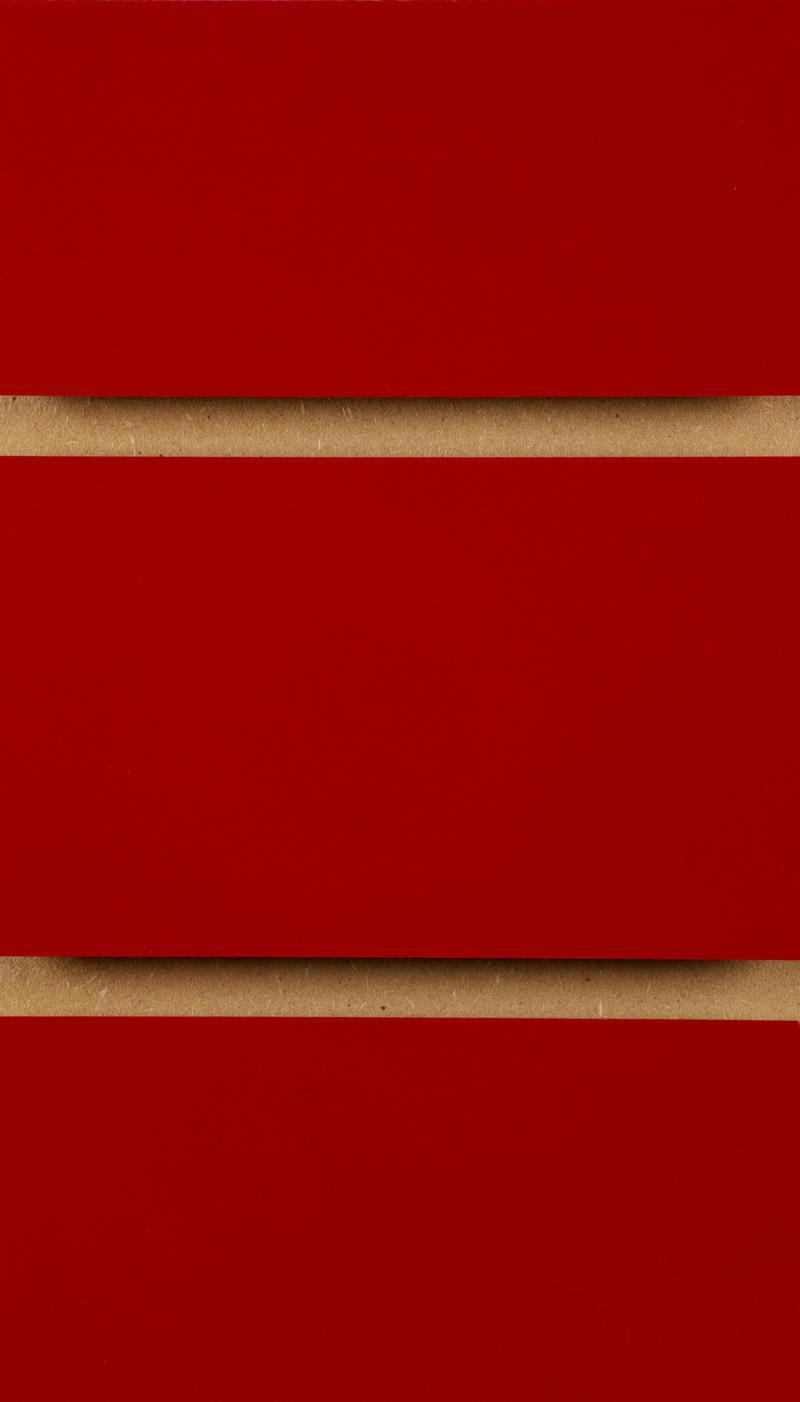 Red Slatwall Panel 4ft X 4ft 1200mm X 1200mm