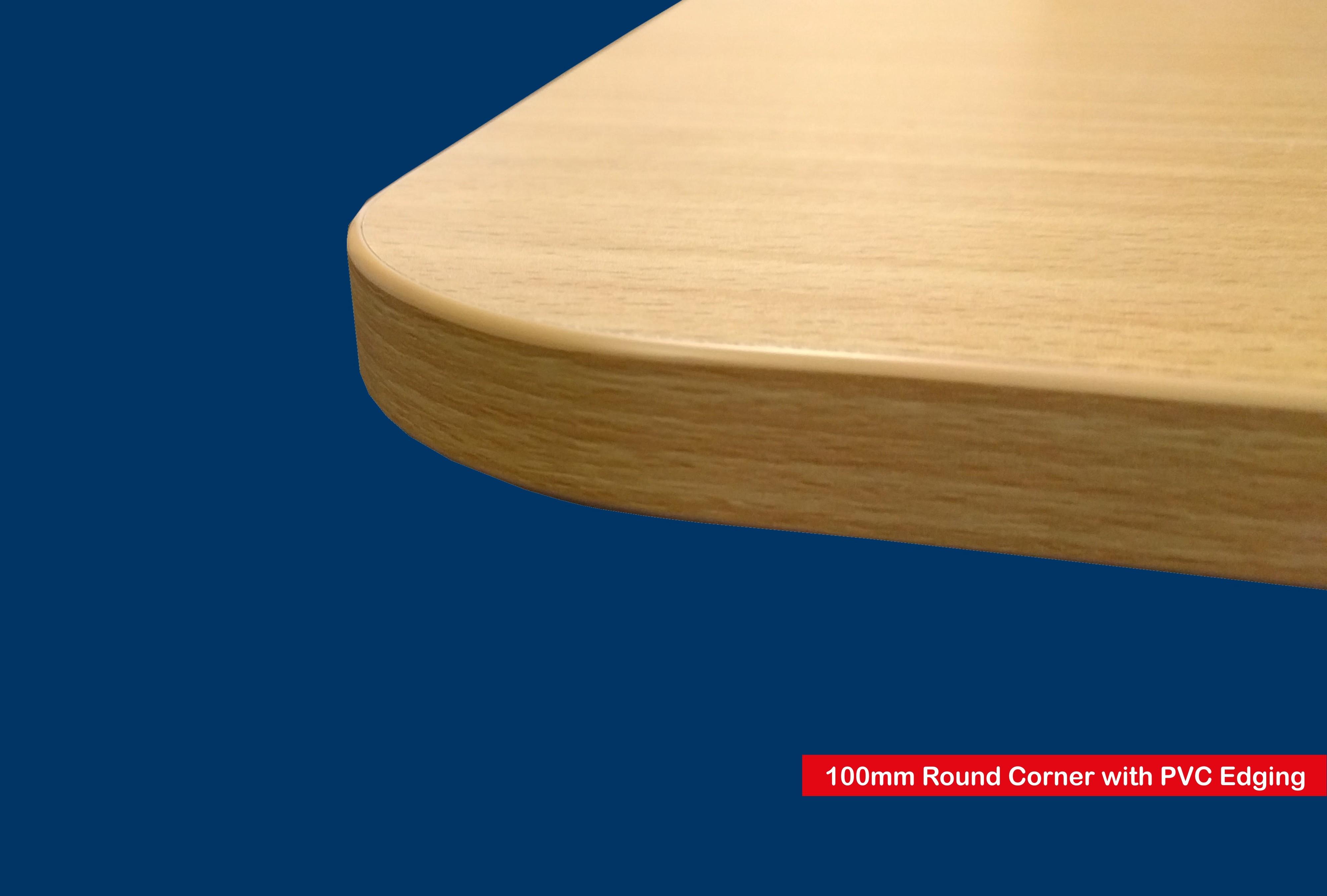 Blue Wood Shelf Floating Slatwall Shelf 600mm Wide X