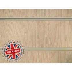 Ash Slatwall Panel 8ft x 4ft (2400mm x 1200mm)