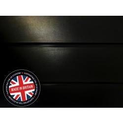Black Slatwall Panel 8ft x 4ft (2400mm x 1200mm)