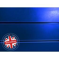 Blue Slatwall Panel 4ft x 4ft (1200mm x 1200mm)
