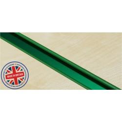 Green Mirror Slatwall Inserts