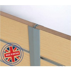 Slatwall 'H' Section Joiner - All Colours