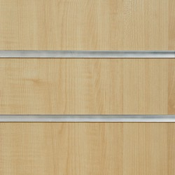 Irish Maple Slatwall Panel 8ft x 4ft (2400mm x 1200mm)