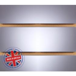 Mirror Slatwall Panel 4ft x 4ft (1200mm x 1200mm)