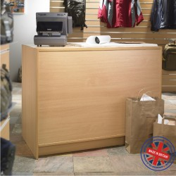 Solid Cash N Wrap Shop Counter - 4ft (120cm) wide