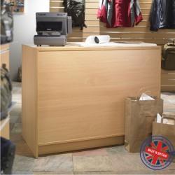 Solid Cash N Wrap Shop Counter - 4ft (120cm) wide