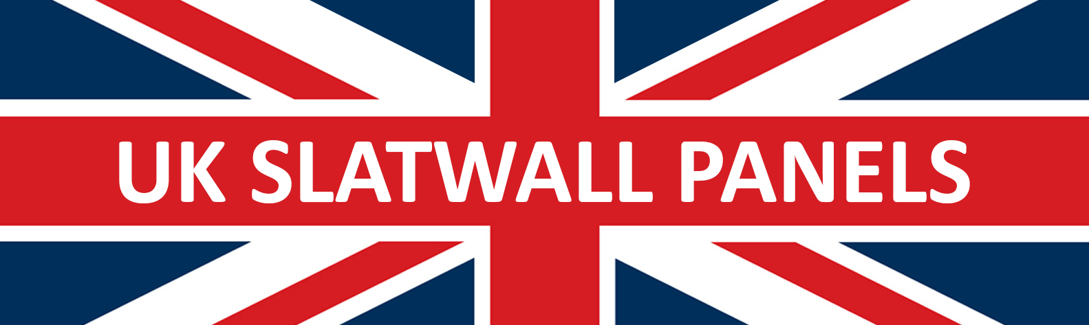 UK Slatwall Panels - 8ft Slatwall