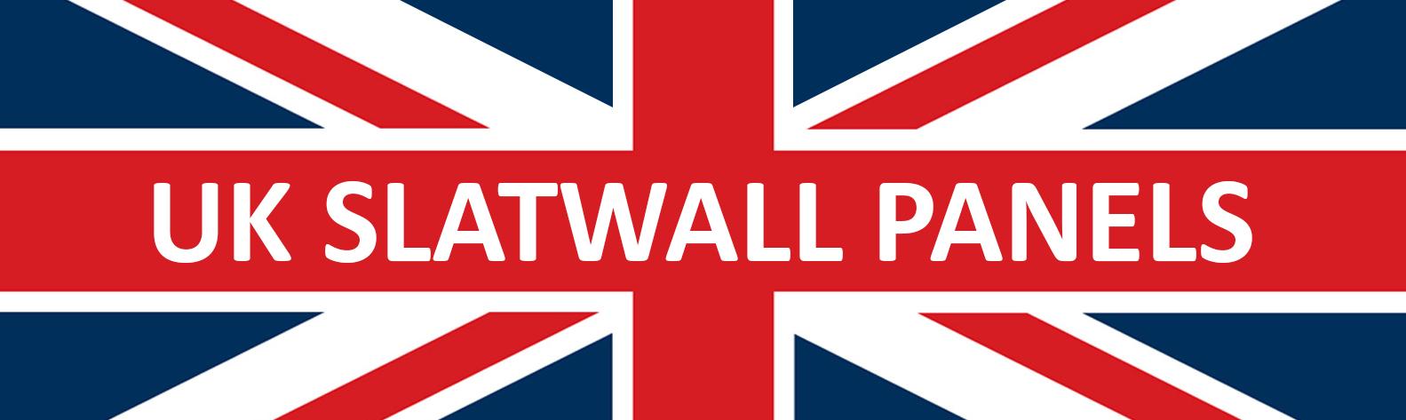 UK Slatwall Panels - 8ft Slatwall