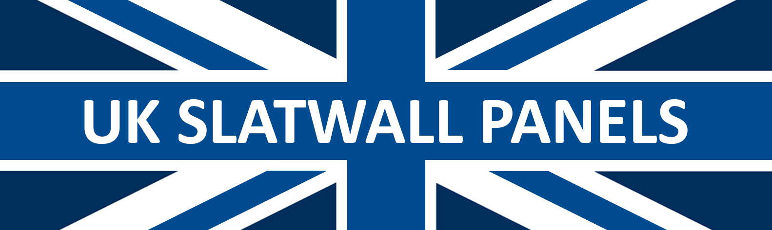 UK Slatwall Panels - 4ft Slatwall